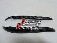 FOR CARBON FIBER 00 04 Daihatsu YRV D Style HEADLIGHTS EYEBROWS EYELIDS
