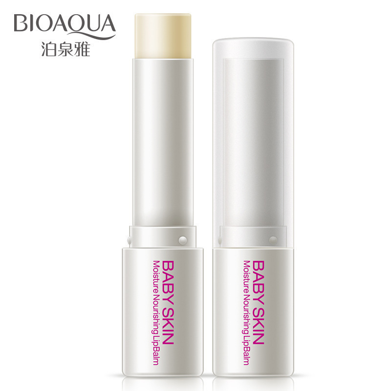 HOT BIOAQUA Baby Skin Natural Plant Essence Lip Balm Moisturizing Repair Lip Wrinkles Anti-Aging Protection Lip BalmHOT BIOAQUA Baby Skin Natural Plant Essence Lip Balm Moisturizing Repair Lip Wrinkles Anti-Aging Protection Lip Balm