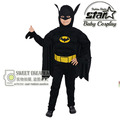 Boys Muscle Batman Costume Superhero Halloween Fantasia Christmas Carnival Anime Cosplay Cothes The Avengers Kids Costume Suit