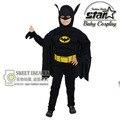 Chicos Musculosos Batman Superhéroe Traje de Halloween Fantasia Cothes The Avengers Niños Traje de Navidad Carnaval Anime Cosplay Traje