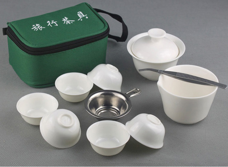 Easy Travel Portable Gong Fu Tea Ceremony Set 1