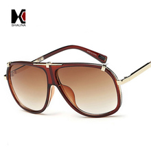 Retro Men Square Sunglasses Brand Designer Fashion UV400