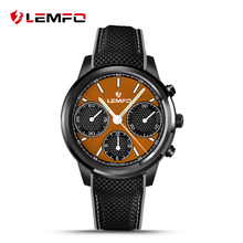 2017 mejor reloj lemfo lem5 android 5.1 os smart watch con 1 gb + 8 gb bluetooth 3g wifi smartwatch para iphone ios android teléfono