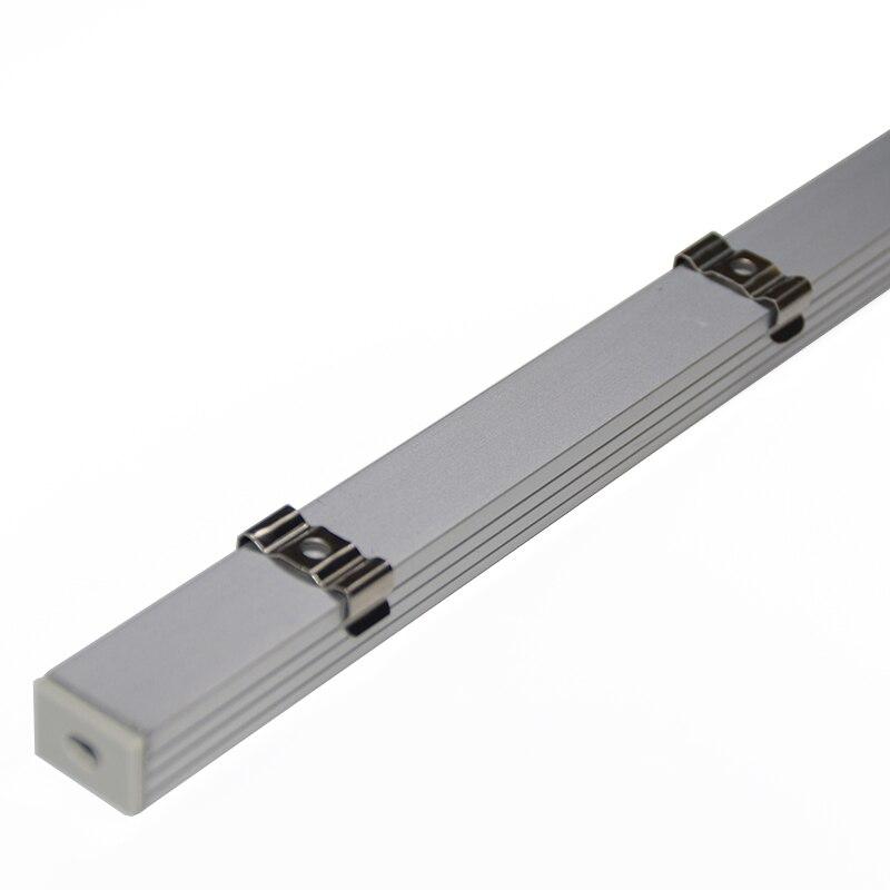 10PCS * 1M U formalı alüminium LED profil alüminium kanal, 16mm - İşıqlandırma aksesuarları - Fotoqrafiya 5