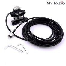 Nagoya Antenna Clip Mount & 5 M RG 58 Estendere Teflon Cavo Mobile Radio PL259 per NMO in acciaio inox Kit Antenna