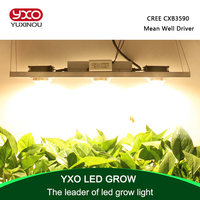CREE CXB3590 300W COB Dimmable LED Grow Light Full Spectrum LED Lamp 38000LM HPS 600W Growing