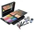 Profissional 85 Color Make Up Da Paleta Da Sombra Mate Marca Comsetic Shimmer Pigment Eyeshadow Lip Gloss Maquiagem Conjunto com Escova