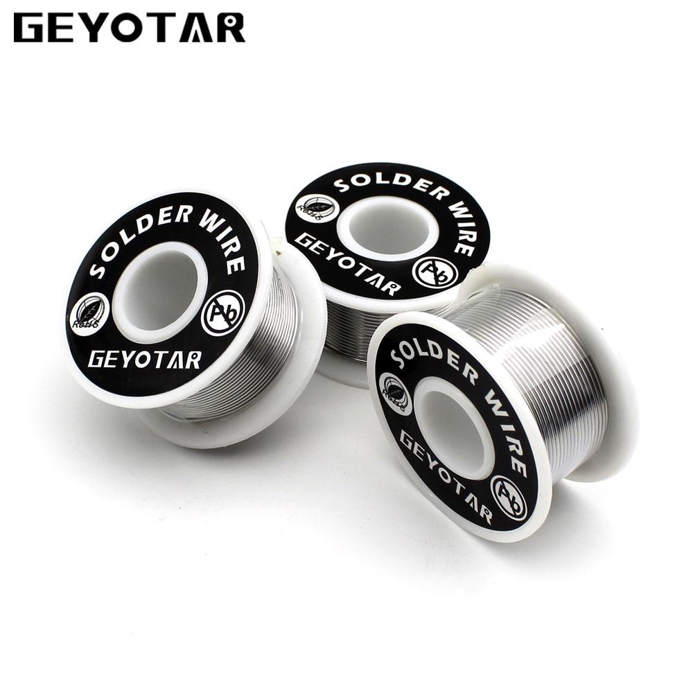 GEYOTAR 1PCS/Set 1mm New Soldering Iron Wire Reel 50g/3.5oz Tin Lead ...