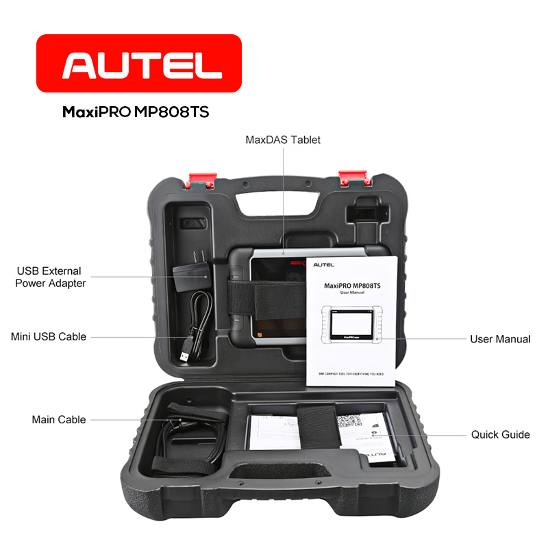 Autel MaxiPRO MP808TS TPMS Diagnostic Tool Complete TPMS Service Wide Range OBD Relearn Functions wifi Bluetooth