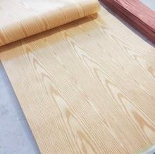 2Pieces L:2.5Meters/pcs   Width:55cm  Thickness:0.2mm  Technology Ash Wood Veneer Furniture Edge Banding Strip