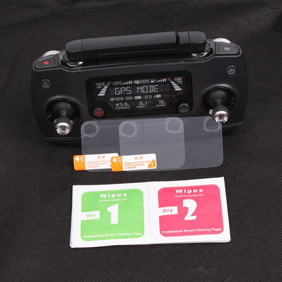2pcs Remote Controller Screen Protector Display Monitor Anti-Scratch Film Cover For DJI Mavic 2 Zoom Mavic Pro Drone Accessory