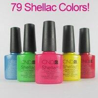 Free Shipping 12Pcs/lot 7.3ml New Arrival CND Shellac Soak Off UV LED Gel Polish 116Fashion Colors Available For Salon Nail Gel