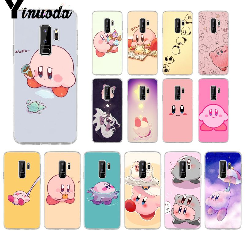 Cellphones & Telecommunications Clever Yinuoda Game Kirby Series Novelty Fundas Phone Case Cover For Samsung S5 S6 Edge Plus S7 Edge S8 Plus S9 Pluscellphones Nourishing The Kidneys Relieving Rheumatism Half-wrapped Case