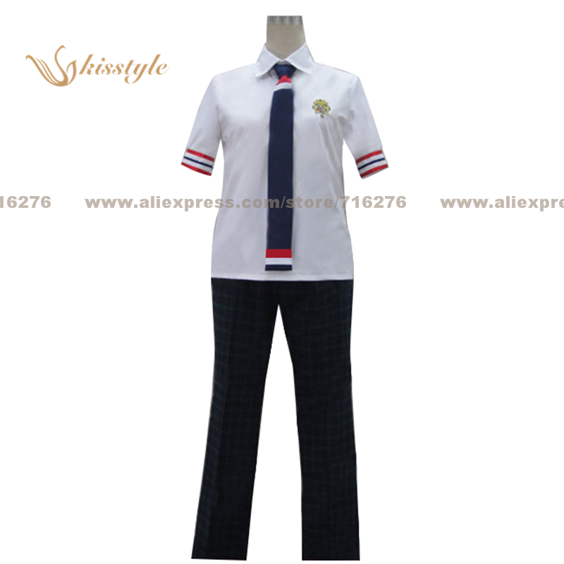 Kisstyle Fashion Uta no Prince sama Summer Boy School Uniform COS Clothing Cosplay Costume,Customized Accepted