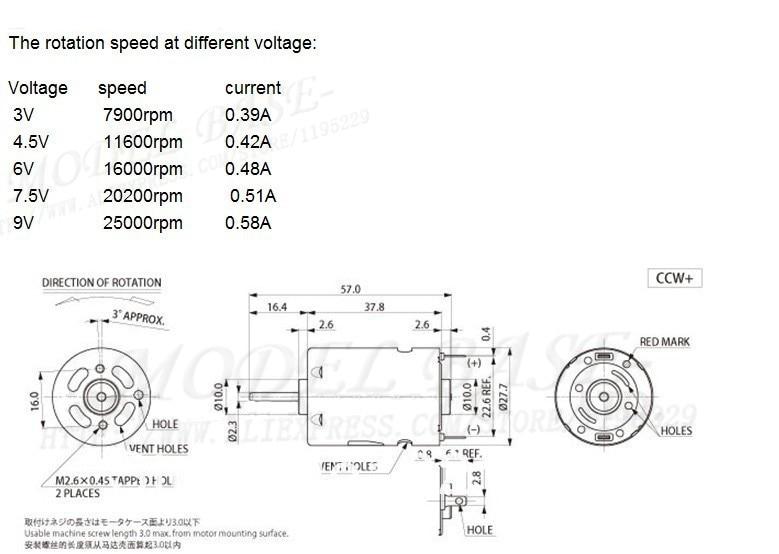 Rc Motor Sizes Impremedia Net