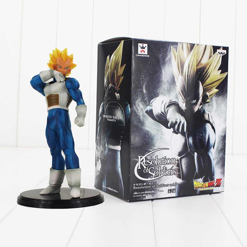 Estilo 2 Resolução de Soldados ROS De Dragon Ball Z Son Goku Vegeta dragon ball Super saiyan PVC Figura Collectible Modelo brinquedo