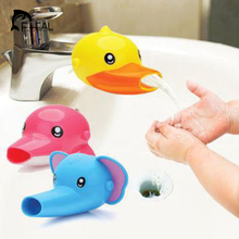 FHEAL 1 pc Lovely Cartoon Faucet Extender For Kid Children Kid Hand Washing in Bathroom Sink Accessories(China (Mainland))