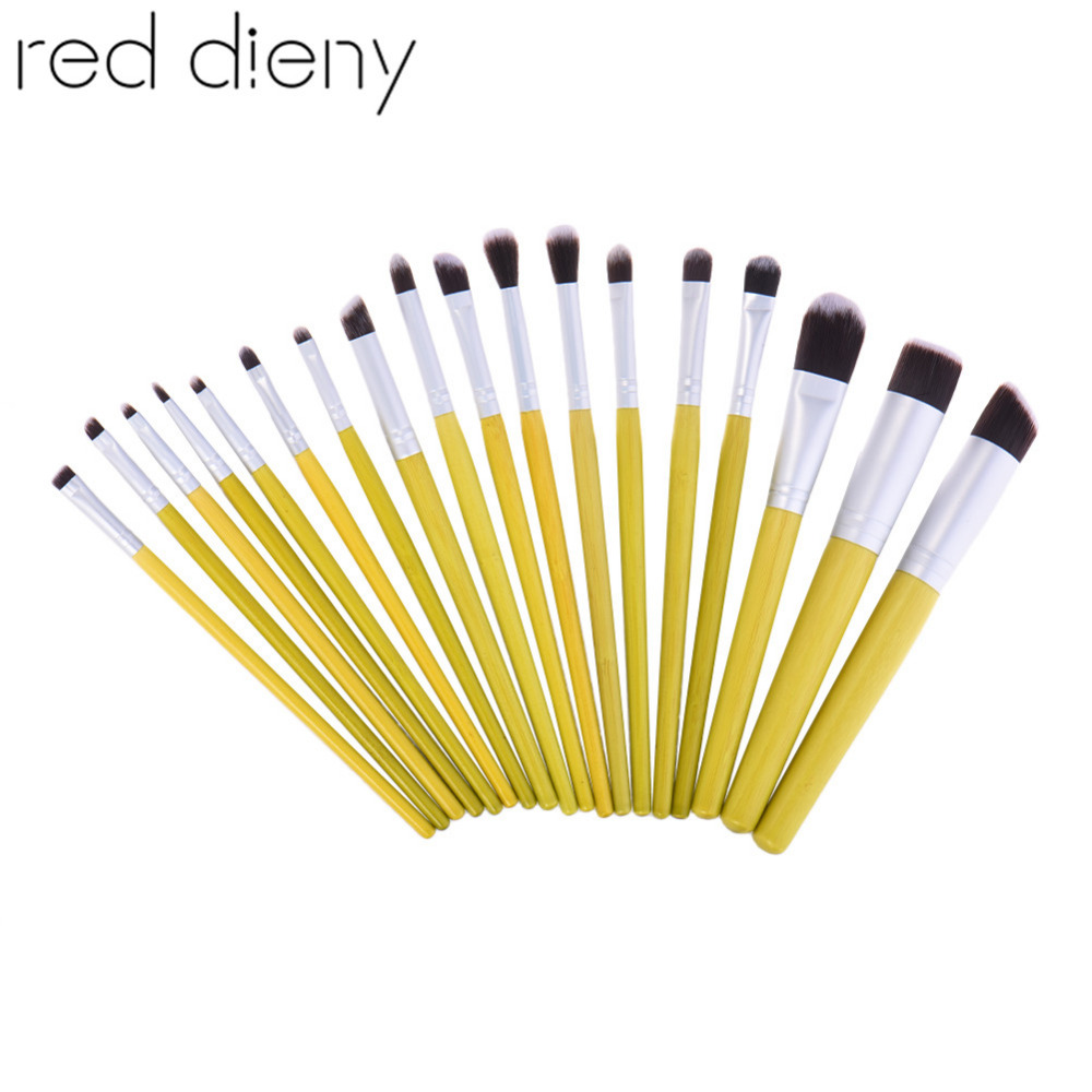 Professional 18Pcs Cosmetic Makeup Brush Set Face Powder Foundation Contour Blending Eyeshadow Eyeliner Lip Brush Make Up Tool 7 pcs cosmetic face cream powder eyeshadow eyeliner makeup brushes set powder blusher foundation cosmetic tool drop shipping