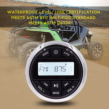 HASDA Marine Bluetooth Radio Receiver Waterproof Boat Stereo Auto Sound System Head Unit MP3/USB/FM/AM For SPA UTV Motorcycle