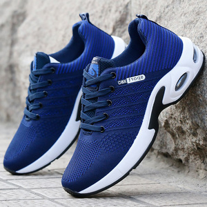 Image 3 - Vulcanized Shoes Male Sneakers 2019 Fashion Summer Air Mesh Breathable Wedges Sneakers For Men Plus Size 38 44 buty meskie