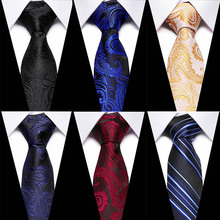 30 Style Neck Tie Men Skinny 7.5cm necktie wedding ties Silk Paisley fashion Mens Business Bowtie Shirt Accessories