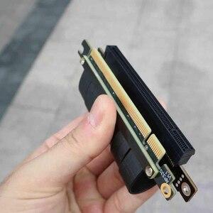 Image 5 - PCI E X16 zu 3,0 X16 Männlich zu Weiblich Riser Erweiterung Kabel Grafikkarte PC Installieren Chasis PCI Express Extender Band 128G/Bps