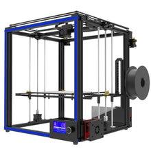 Новейший большой размер печати Tronxy X5S 3d принтер Большая область печати CoreXY система алюминиевая конструкция 12864 P lcd 8G sd-карта