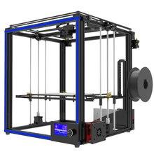 Новые большой размер печати tronxy X5S 3D-принтеры большой области печати CoreXY Системы алюминиевая конструкция 12864 P ЖК-дисплей 8 г SD карты