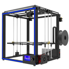 Newest big print size Tronxy X5S 3D Printer Big Print Area CoreXY System aluminium structure 12864P LCD 8G SD card