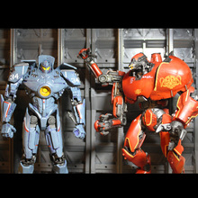 NECA Pacific Rim China's CRIMSON TYPHOON Gipsy Danger etc robot Movable joints Action figure model Toy 7.5  19 CM цена