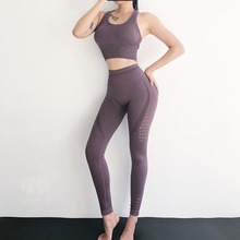 Women Gym Sets 2 Piece Seamless Yoga Clothes Sportswear Female Workout Set Active Wear ropa deportiva mujer