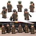 D166 WW2 World War II Military Warfare ss Gun Weapons War Army 3.5x5cm Block Children's Toys
