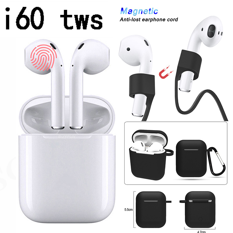 i60 <font><b>Tws</b></font> Wireless Bluetooth earphones pk i10 i12 i13 <font><b>i14</b></font> i20 i30 i60 i80 i70 i77 i90 i100 i 10 12 14 20 30 60 70 80 90 100 image