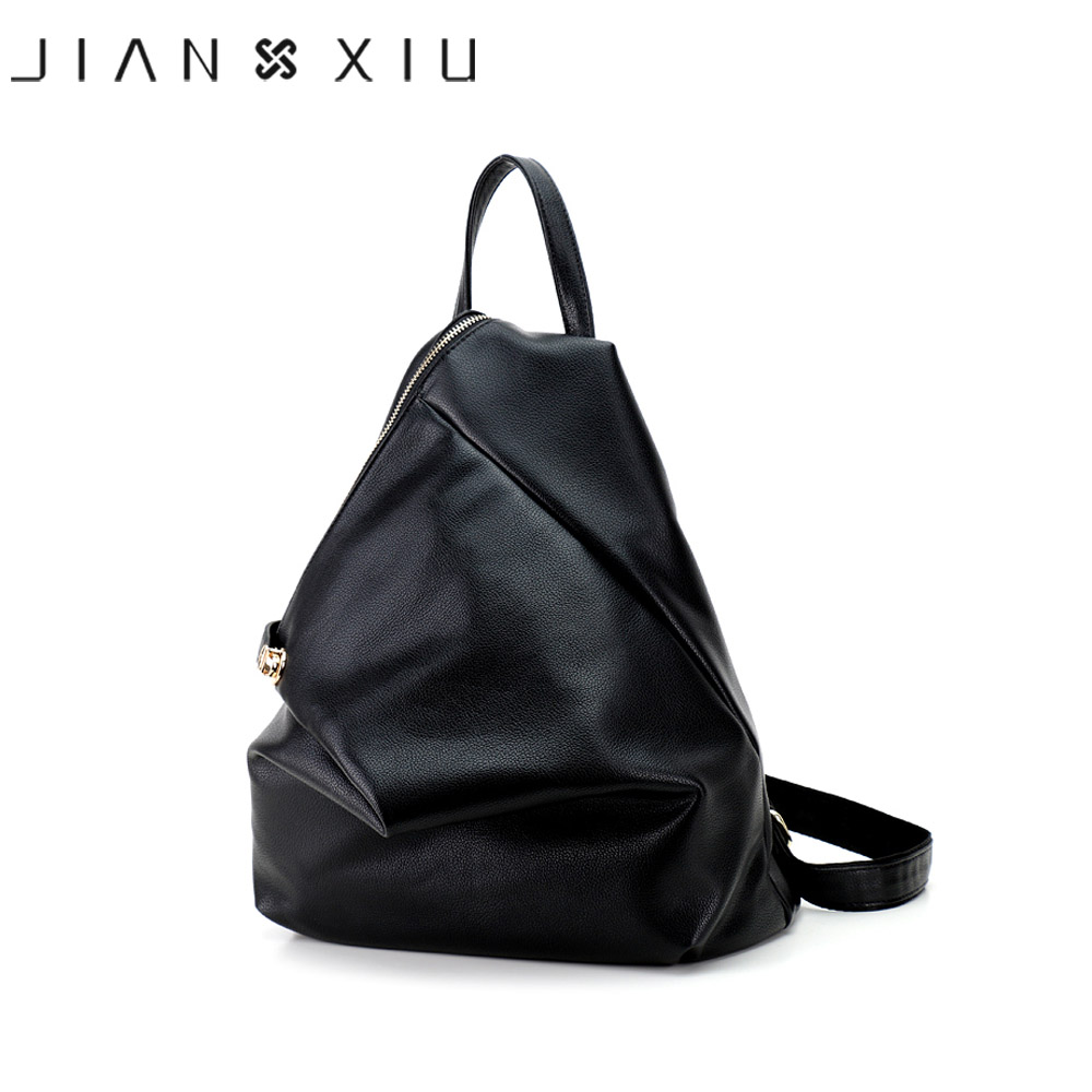 JIANXIU Women Pu Leather Backpack School Bags Mochilas Bolsas Mochila Feminina Multi-functional Escolar Backpacks Mujer Bagpack backpack mochilas mochila feminina school bags women bag genuine leather backpacks travel bagpack mochilas mujer 2017 sac a dos