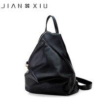 JIANXIU Women Pu Leather Backpack School Bags Mochilas Bolsas Mochila Feminina Multi-functional Escolar Backpacks Mujer Bagpack
