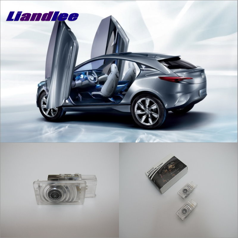 Liandlee Car Door Welcome Light Shadow LED Laser Projector Logo For Buick Envision 2014 Courtesy Doors Lights Accessories Parts