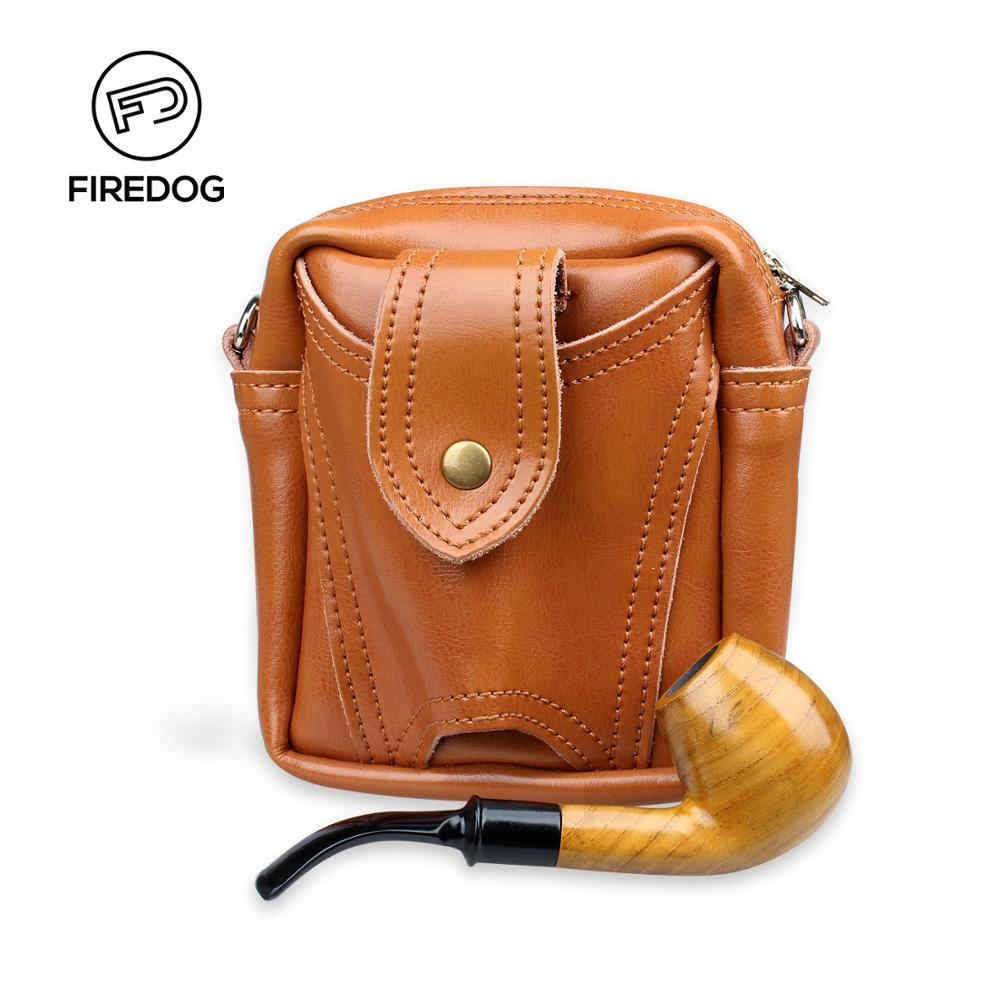 FIREDOG Smoking Pipe Leather Tobacco Pipe Weed Case Bag Pouch Smoking Cigarette Holder Accessories