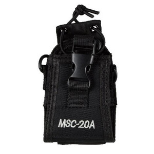 Walkie talkie universal Pounch Nylon Case two 2 way radio holder bag for Motorola Kenwood Midland ICOM Yaesu baofenguv5rc MSC20A