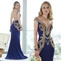 ... Stretch Jersey Sexy Gold Beadings Royal Blue Prom Dress with Low Backes  2015USD 185.00 piece. Oumeiya ONP266 Red Soft Tulle Mermaid Rhinestone Bling  ... e5323d0aceb8