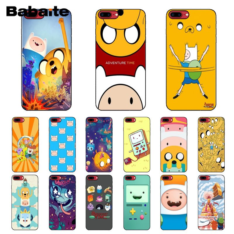 Good Babaite Adventure Time With Jake And Finn Bmo Novelty Fundas Phone Cover For Iphone 7 8 Plus 6 6splus X Xs Xr Xsmax 5 5s Se 5c Selected Material Phone Bags & Cases Cellphones & Telecommunications