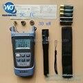 2 Em 1 Kit de Ferramentas De Fibra Óptica FTTH Medidor de Potência Óptica de King-60S-70 a + 10dBm e 30 mW Localizador Visual da Falha da Fibra óptica caneta de teste