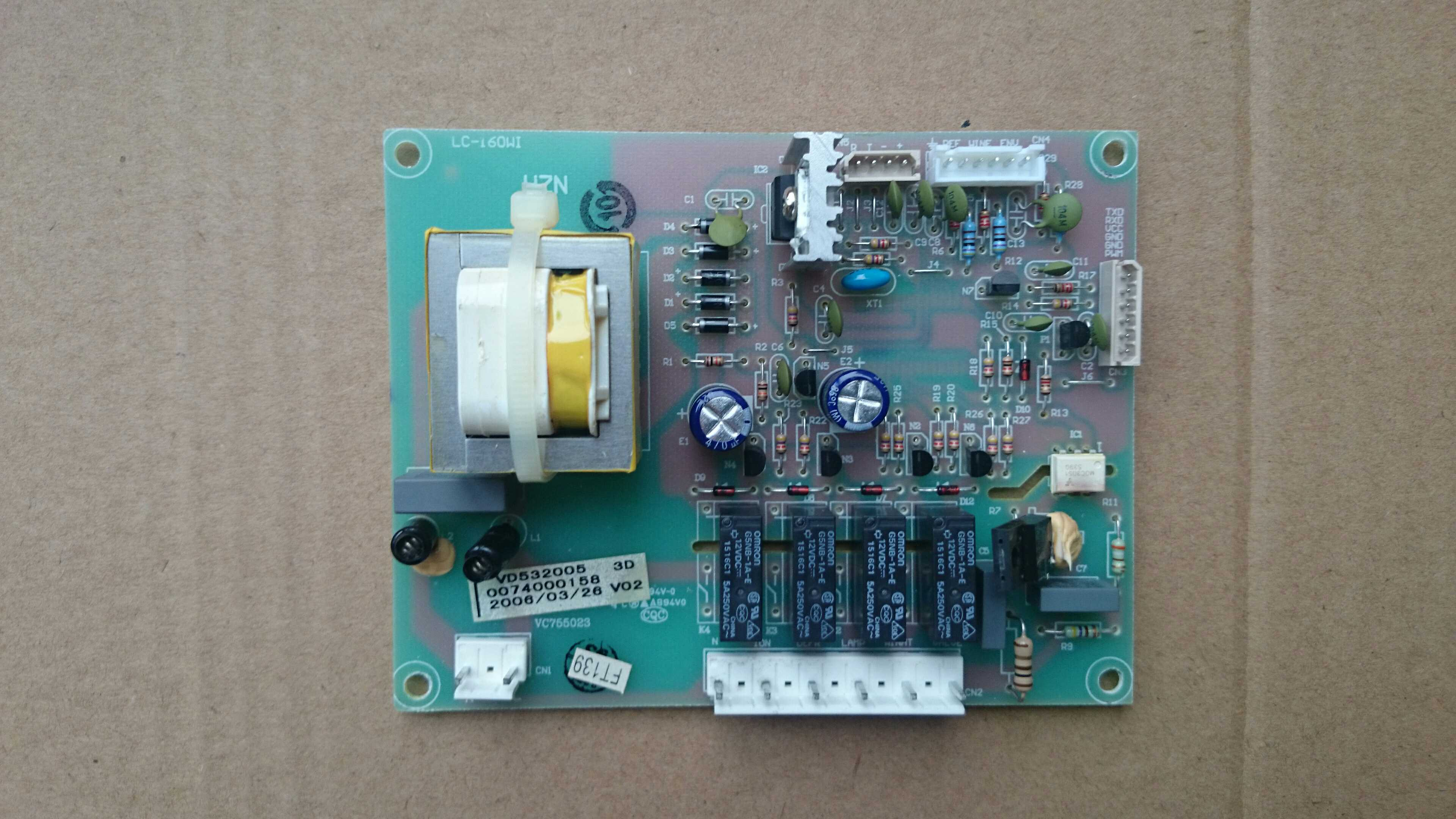 Haier LC130WBP inverter power supply board 0074000158 for storage. Jiubing wine LC160WBP телевизор haier le50k5500tf