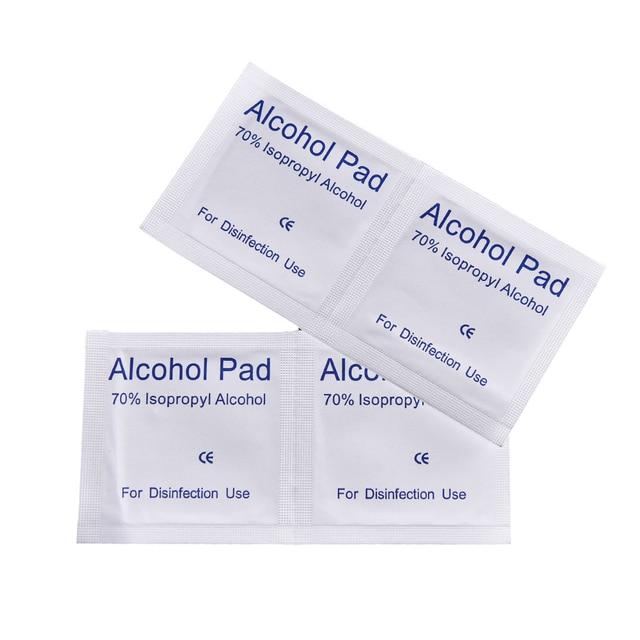 Torundas con alcohol almohadillas antis ptico toallitas - Alcohol de limpieza ...