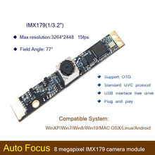 HBVCAM USB camera module CMOS IMX179 8MP 70 Degree Auto Focus Laptop usb camera module for Windows 2000\ Windows XP\Windows 7 elp 8mp sony imx179 hd wide angle 180degree fisheye lens industrial machine vision webcam camera module andorid linux windows