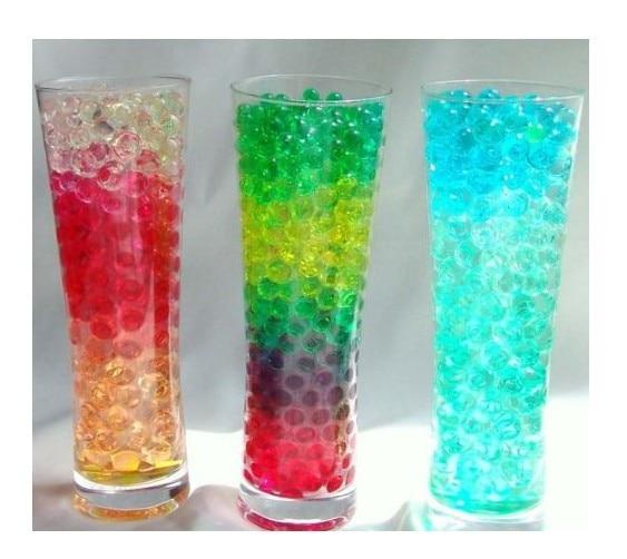 ecdb46ac3 4 Gramps Colores Mezclados de Cristal Del Suelo de Barro de Agua Perlas de  Gel de