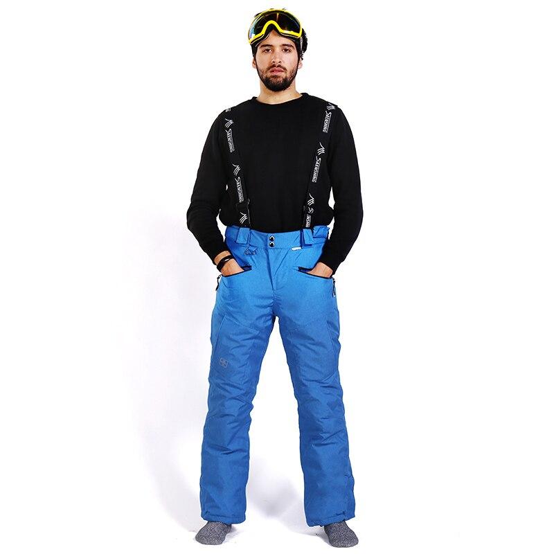 SAENSHING-30 degrés hommes Snowboard pantalon hommes ski pantalon imperméable 10 K respirant hiver neige pantalon hommes marque Ski ski pantalon - 3
