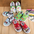 Insole13~16.2cm Children Shoes child Casual Shoes baby Boys  shoes  canvas shoes car