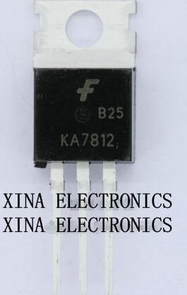 Leistungsschalter Ka7812 Ka 7812 To-220 Rohs Original 20 Teile/los Kostenloser Versand Electronics Zusammensetzung Kit Elektrische Ausrüstungen & Supplies