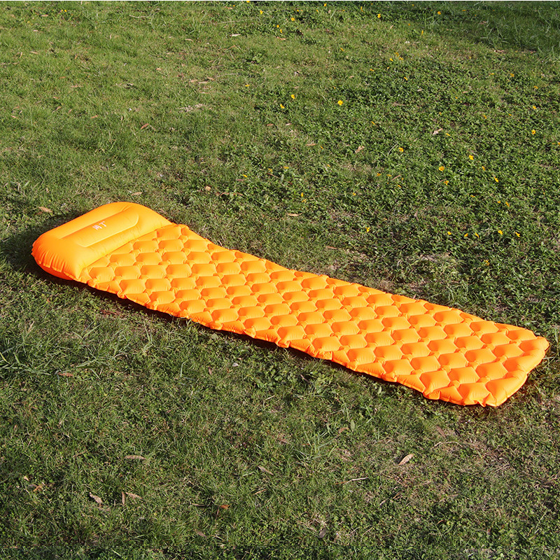 Image 2 - Ultralight Outdoor Inflatable Cushion Sleeping Camping Mat Sleeping Pad Mattress for Camping Hiking Backpacking Travel-in Camping Mat from Sports & Entertainment