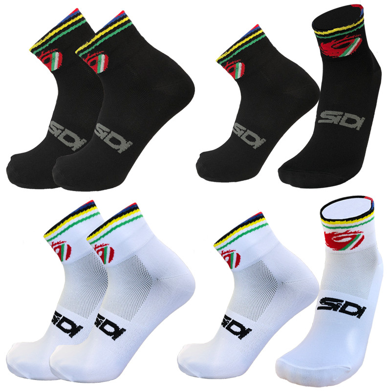 New Summer Compressprint Professional Sport Socks Breathable Road Bicycle Socks Outdoor Sports Racing Short Cycling Socks